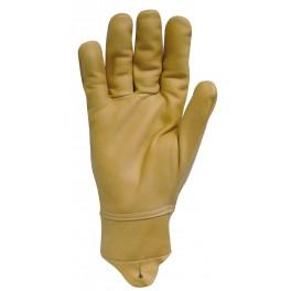 Gant cuir hydrofuge