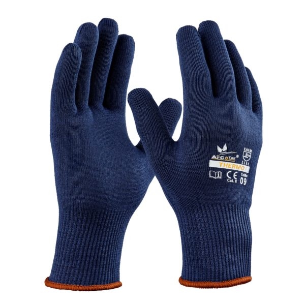 Gant froid Thermo bleu