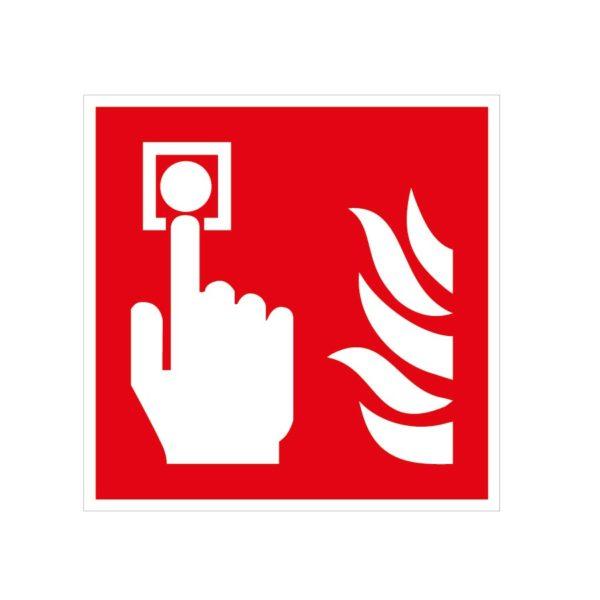 Bouton d'alarme incendie