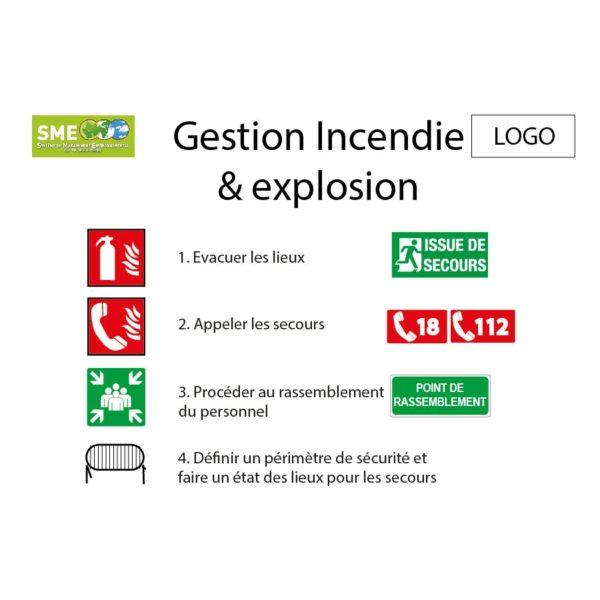 Gestion incendie et explosion