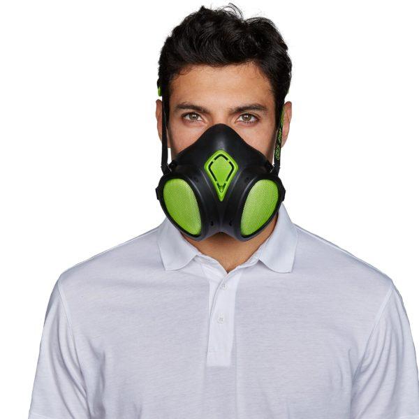 Demi masque jetable 8400 ABEK1P3R avec cartouche BLS