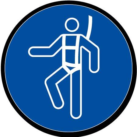 Port du harnais obligatoire