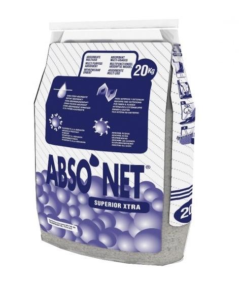 Sac absorbant granules tous liquides 20 kg