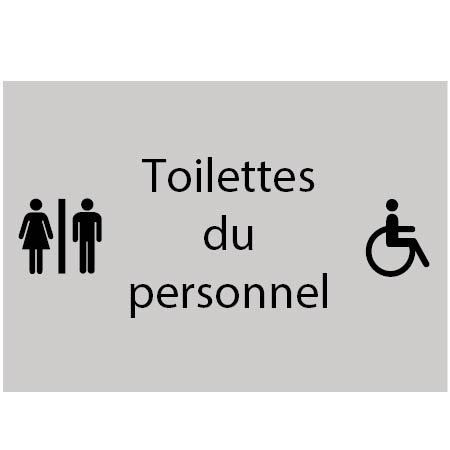 Toilettes du personnel