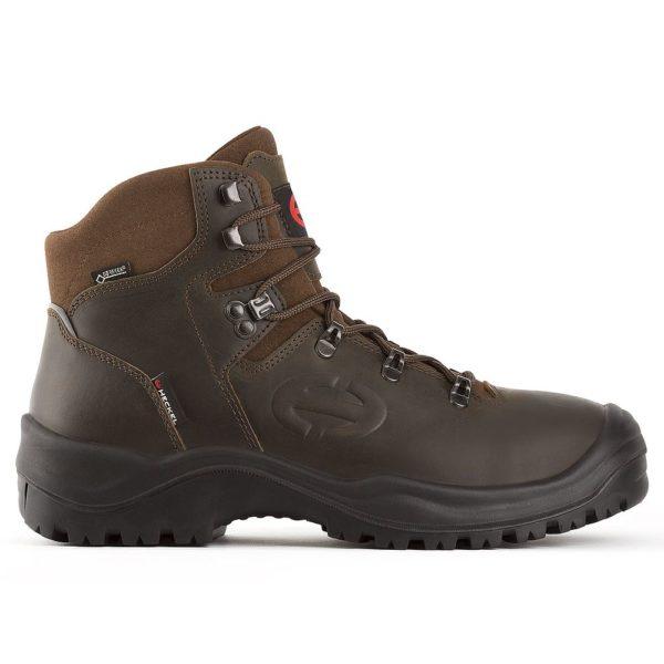 Chaussures de sécurité hautes marron MX400GT en GORE-TEX S3 HECKEL