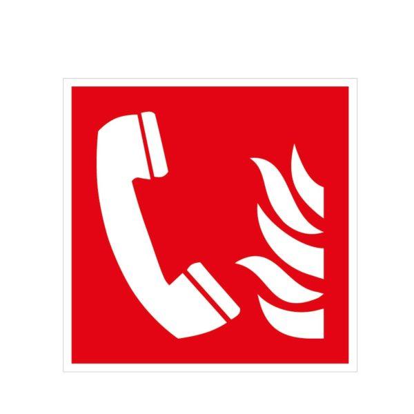 Téléphone d'alarme incendie